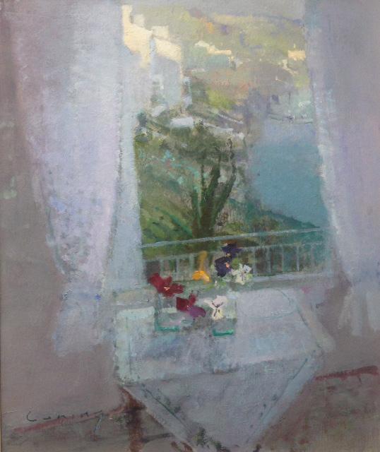 The Window Fowey Harbour 24x20cm £10450