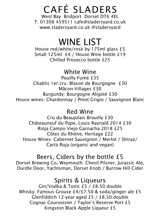 Wine List new