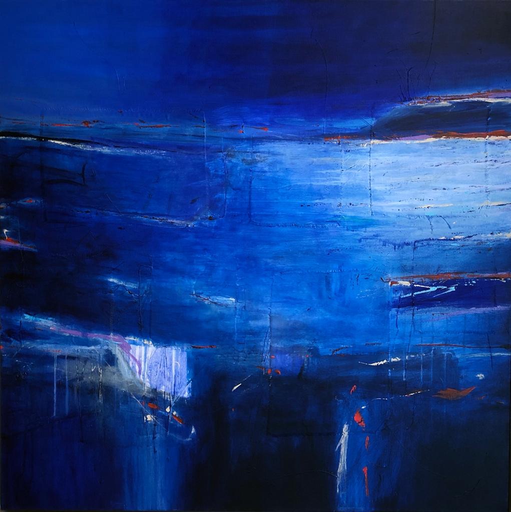 Evening Coast No.3  90 x 90 cm  £6,000