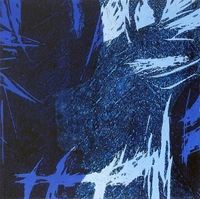 Nightfall No.1 Woodcut, edition of 50 20 x 20 cm Unframed £ 290