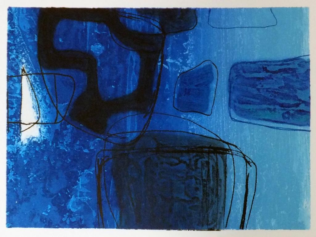 Nocturne No.1 etching ed.10/60  image size 20.5 x 29 cm 2019 framed £425