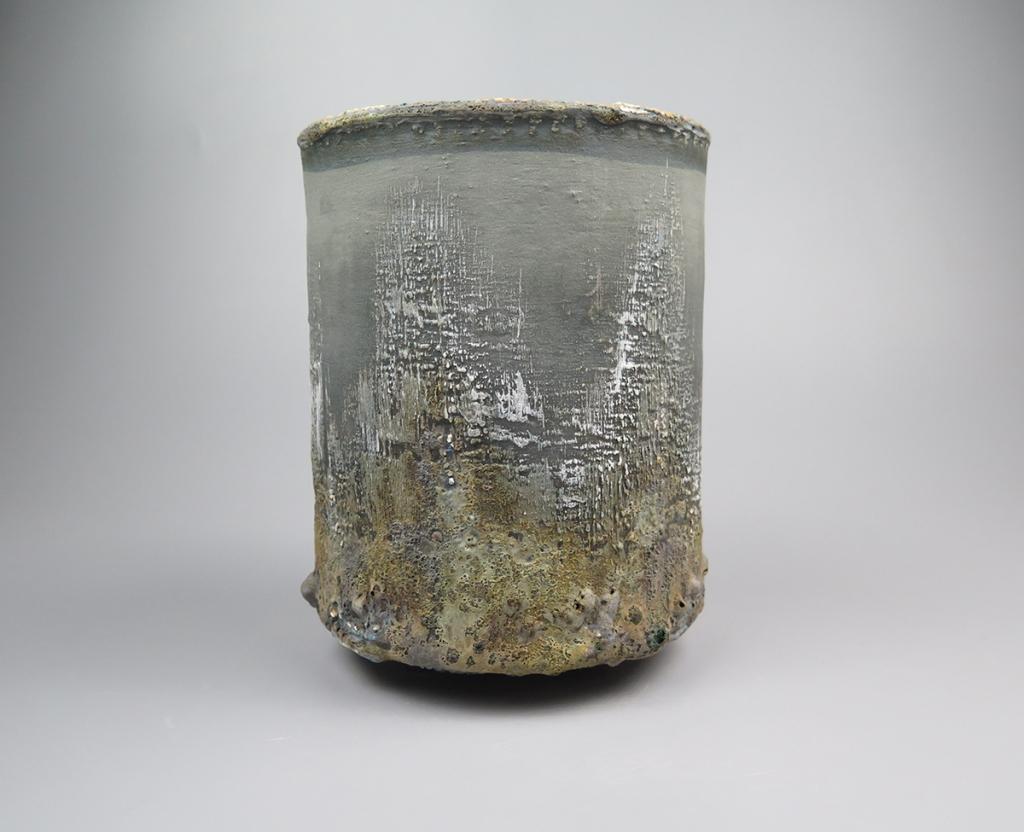 Paul Wearing 5. Cylinder Vessel H19 x D15cm £300