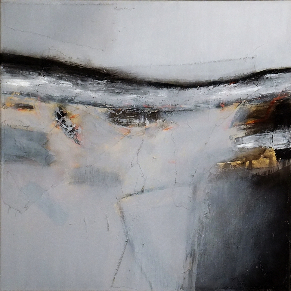 Winter Coast No.5  50 x 50 cm £2,800